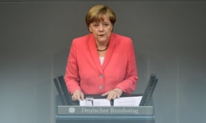 Angela Merkel: UK needs to work out what role it wants to play in Europe