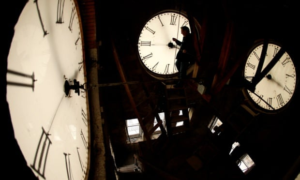 interior clock face tower