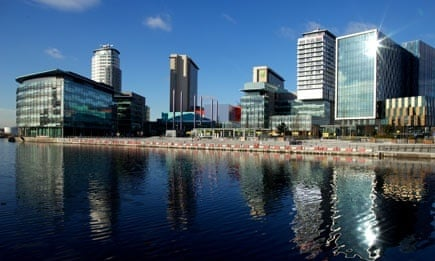 MediaCity at Salford Quays, Manchester