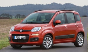 Fiat Panda: short and upright but amazingly roomy.