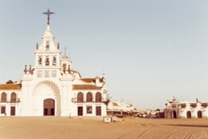 El Rocio, view to Ermita del Rocio