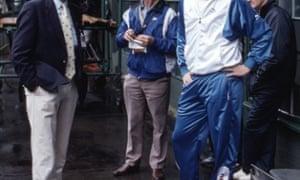 A dapper Boris Becker at Wimbledon in 1987
