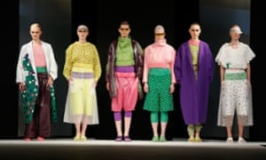Designs by Nataliya Brady shown at Graduate Fashion Week.