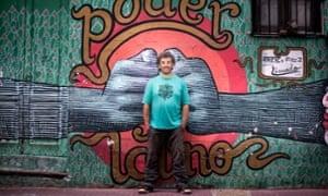 Ignacio Montoya Carlotto, smiling, in Buenos Aires today.