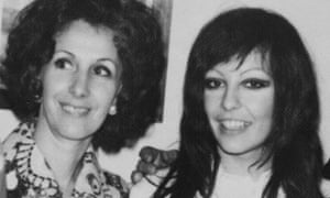 Estela with her daughter Laura in the 1970s