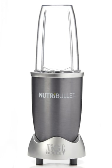 The famous Nutribullet - no buttons and minimal washing up