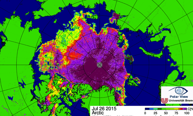 sea ice concentration