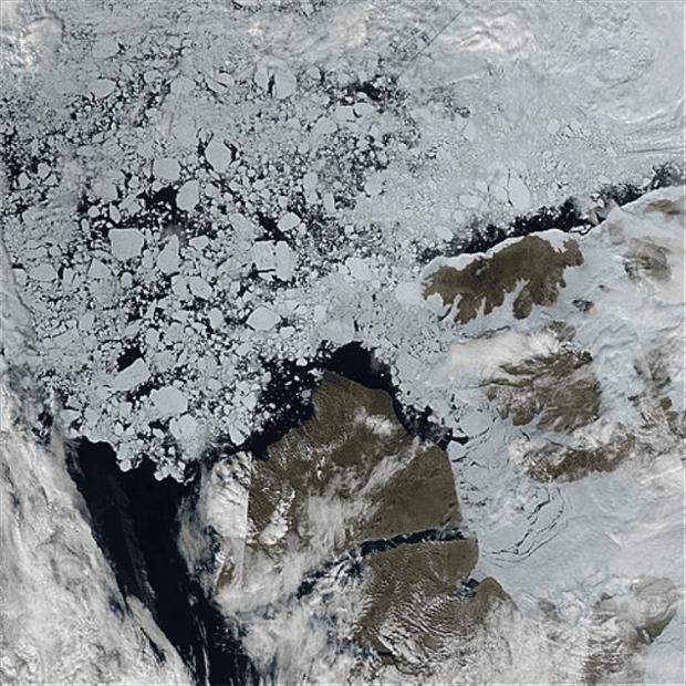 sea ice image