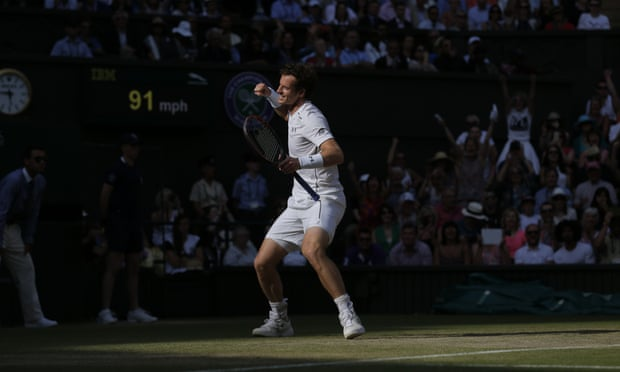 Andy Murray wins in four sets to reach his eighth successive quarter-final.