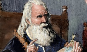 Galileo demonstrating his astronomical theories.  Climate contrarians have virtually nothing in common with Galileo.