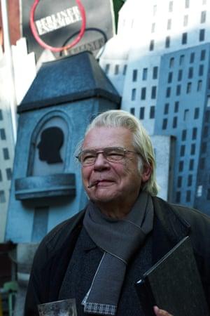 Manfred Karge in Berlin.