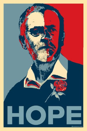 Jeremy Corbyn as Barack Obama