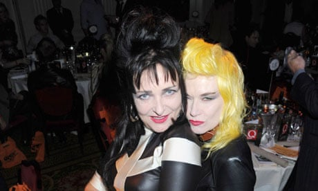 Siouxsie Sioux News Siouxsie Sioux at q Awards