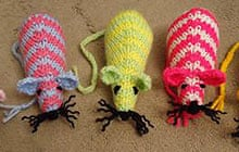 Knitting Pattern Toy Mice : How to make a catnip mouse Life and style The Guardian