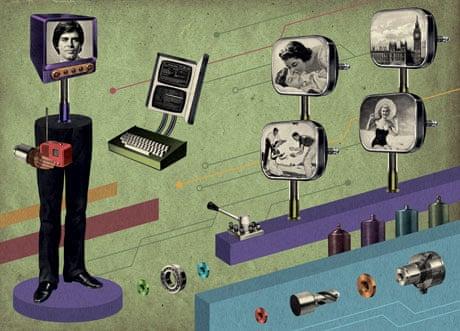 digital memory futuristic picture