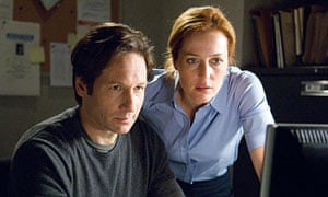 The X-Files featuring David Duchovny and Gillian Anderson