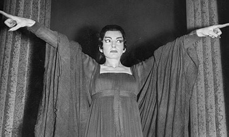 Maria Callas On Stage Callas rehearsing for her