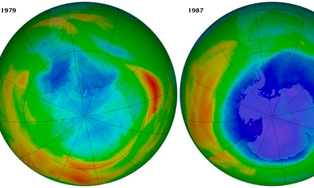 term paper on ozone-layer depletion