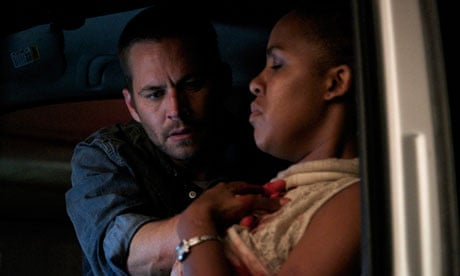 Paul walker and naima mclean in south african thriller vehicle 19 are