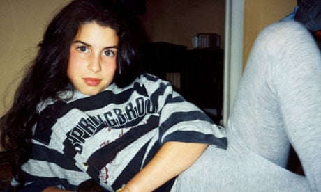 Amy in stripy sweatshirt Amy Winehouse