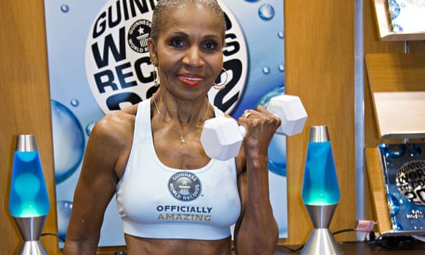 Bodybuilder Ernestine Shepherd, 78, attributes her youthful looks to diet and exercise. But scientists now say they will soon be able to do much more with drugs. Photograph: Lynn Goldsmith/Rex