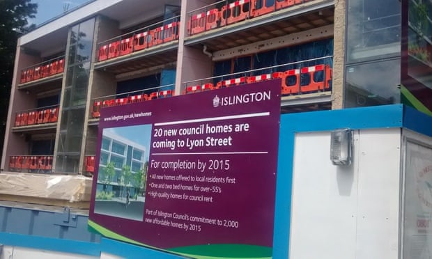 Twenty new flats near King's Cross – but probably not for  council rent after all.