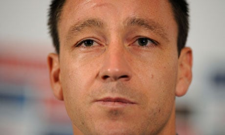 John Terry: banned for four matches. Photograph: Tom Jenkins Tom Jenkins/Tom Jenkins - John-Terry-008