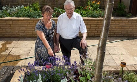 How Gardening Is Helping People With Dementia Society The Guardian