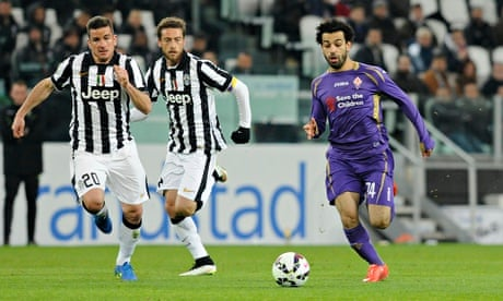 Juventus fall to first home defeat in two years as Fiorentina win Italian Cup tie...