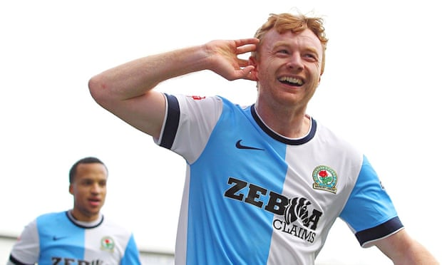 Blackburn's Chris Taylor gunning for Stoke and wants another Wembley trip