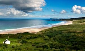 White Park Bay in Northern Ireland.