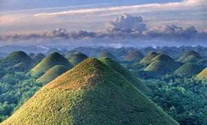 Chocolate Hills Natural, Bohol, Philippines Asia