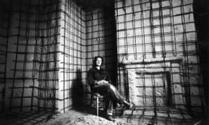 Between the lines: in Bow in 1993, during the making of House, a concrete cast of the inside of an entire terraced home.