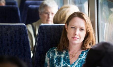 Paula Hawkins between Brixton and Sydenham Hill on the Southeastern train network