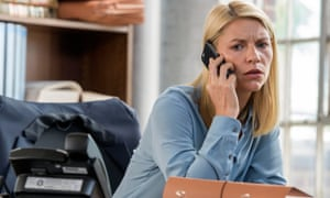 'The stage is set wonderfully': Claire Danes as Carrie Mathison in Homeland.