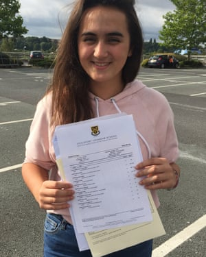 Nikita Murray is celebrating after receiving 11 A*s in her GCSEs.