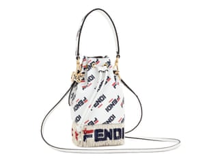 Fendi maniaInstagram artist @hey_reilly has reinterpreted the Fendi and Fila logo with a special Fendi Mania capsule collection for men, women and children featuring everything from bags to pool sliders, launching next week. Bag, £1,290, fendi.com