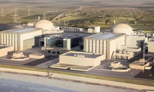 Artist's impression of  new Hinkley Point C