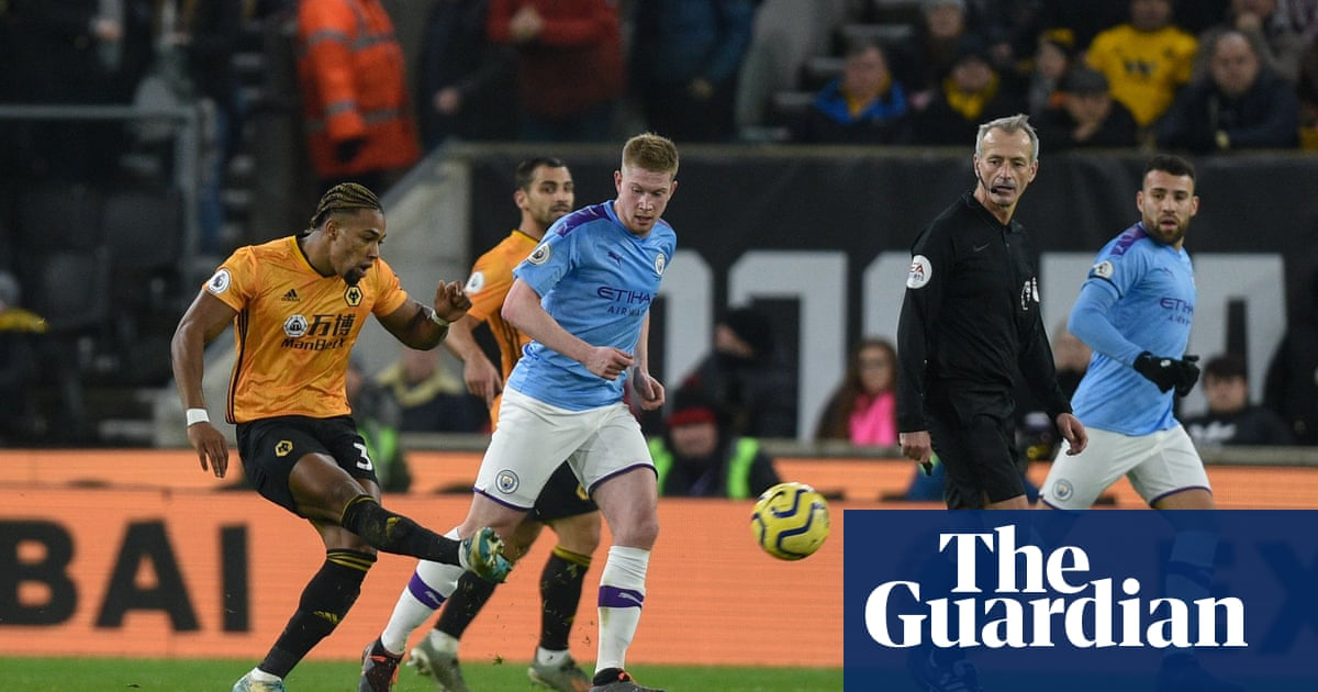 Wolves haunting Adama Traoré is the bad dream Pep Guardiola must tackle | Jonathan Wilson