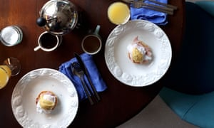 Eggs Benedict from Little Fires Everywhere by Celeste Ng