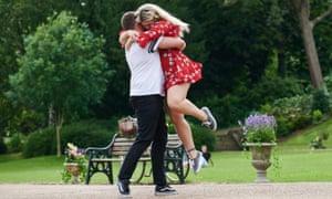Kerry and Jordan on Flirty Dancing
