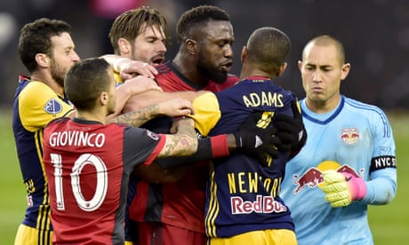 MLS play-offs: Jozy Altidore says he was sucker-punched as Toronto progress