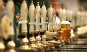 Higher alcoholic beverage prices helped to push the UK inflation rate up last month