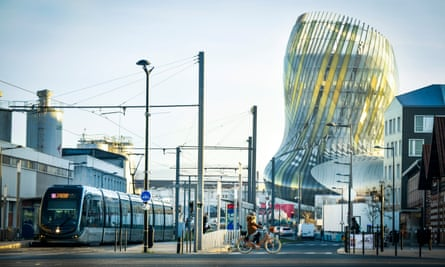 Bordeaux's new wine museum, La Cite du Vin.