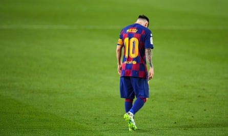 Lionel Messi has watched the peak of his career slip by without a European Cup in five years.