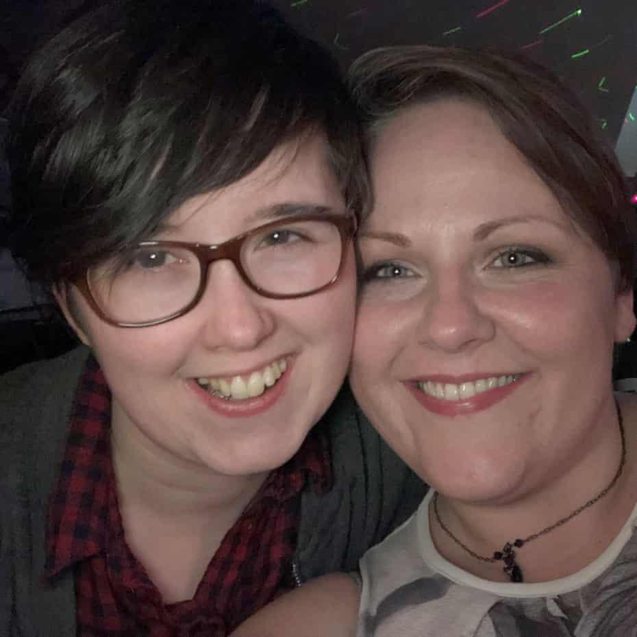 Lyra McKee and Sara Canning.