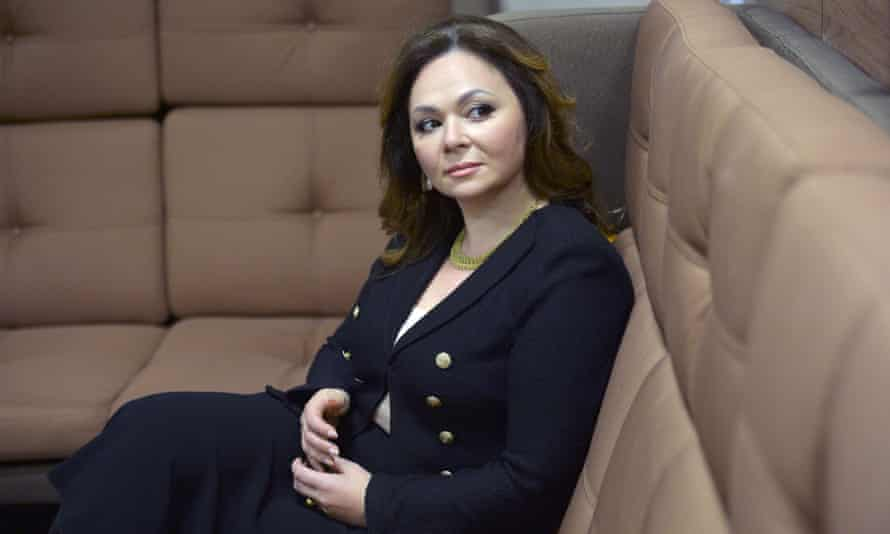 The Russian lawyer Natalia Veselnitskaya, who met Donald Trump Jr and other campaign figures.