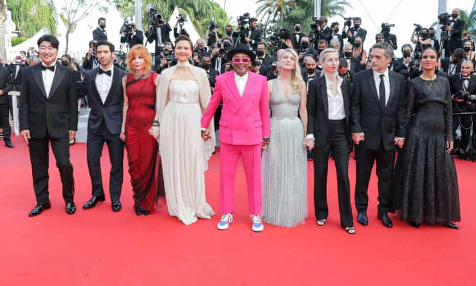 The Cannes jury, 2021