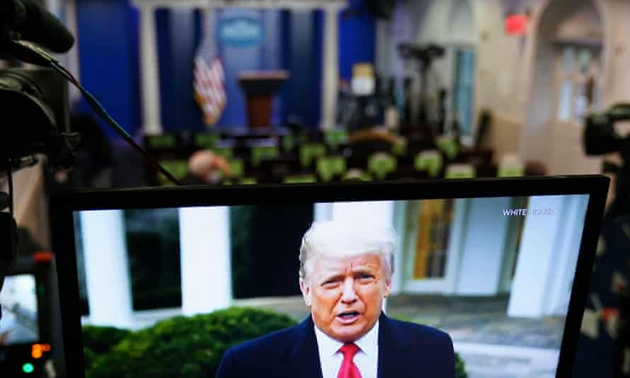 In a video released on Thursday evening, Trump promised a smooth and orderly transition of power, though he stopped short of abandoning his claims of fraud.