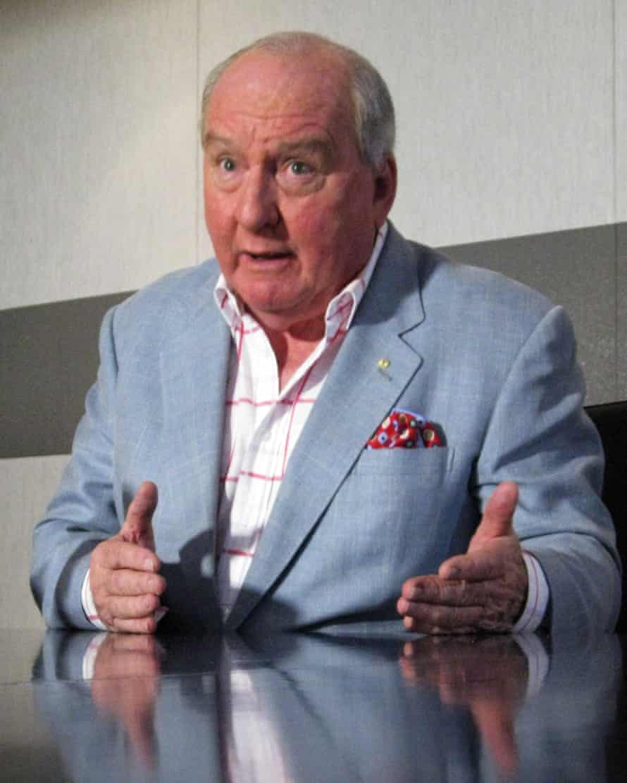 Sky News Broadcaster Alan Jones.